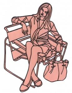 fille au sac